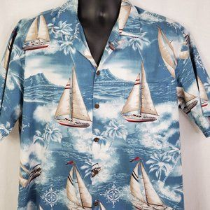 Pacific Legend Button Front Boat Shirt